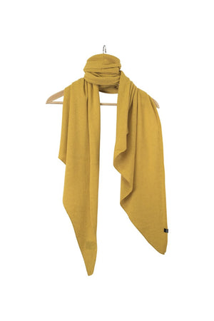 Stola Sghemba-AW20-KN Collection-Dark Yellow-125x50-KN Kati Niemi