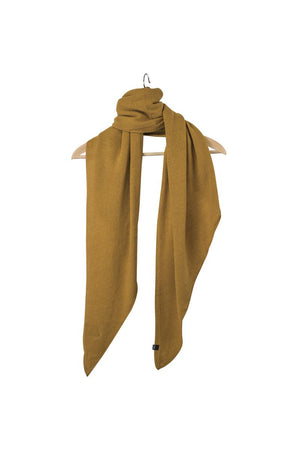 Stola Sghemba-AW20-Mustard-125x50-KN Kati Niemi Collection