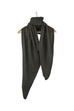 Stola Sghemba-AW20-KN Collection-Dark Green-125x50-KN Kati Niemi