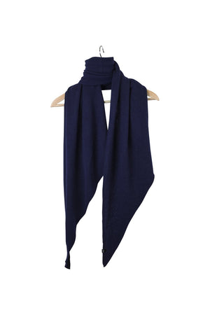 Stola Sghemba-AW20-KN Collection-Dark Blue-125x50-KN Kati Niemi
