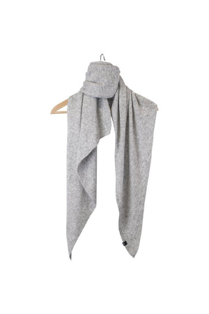 Stola Sghemba-AW20-KN Collection-Light Grey-125x50-KN Kati Niemi