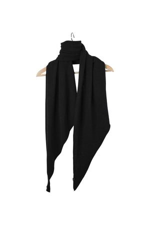 Stola Sghemba-AW20-Black-125x50-KN Kati Niemi Collection