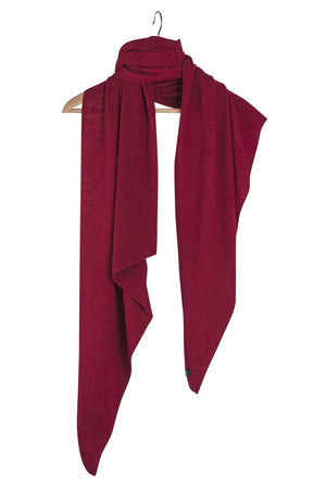 Stola Sghemba-AW20-Burgundy-125x50-KN Kati Niemi Collection