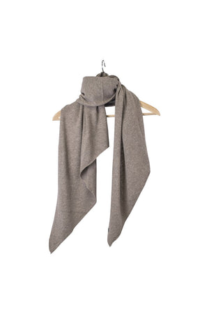 Stola Sghemba-AW20-KN Collection-Light Brown-125x50-KN Kati Niemi