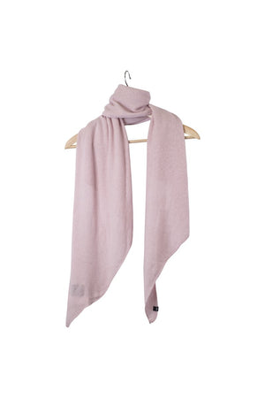 Stola Sghemba-AW20-KN Collection-Light Pink-125x50-KN Kati Niemi