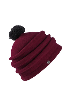 Ilta-AW20-Burgundy-M-Wool-KN Kati Niemi Collection