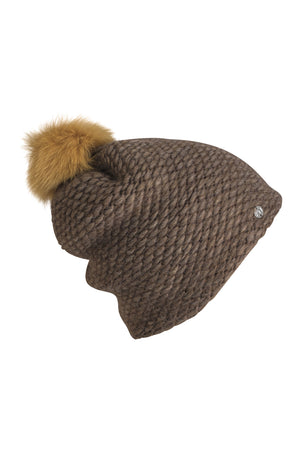 Knitted Hat-AW19-Brown-KN Kati Niemi Collection