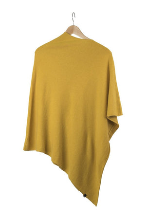 Ania Poncho-AW20-Dark Yellow-OneSize-KN Kati Niemi Collection