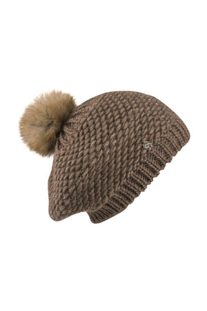 Cappello Maglia-AW19-KN Collection-brown-KN Kati Niemi