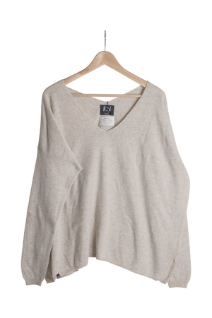 KN Toivo Neule-AW20-Beige-M-KN Kati Niemi Collection