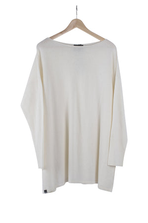 Maglia Paricollo-AW20-Ivory-80x75-KN Kati Niemi Collection