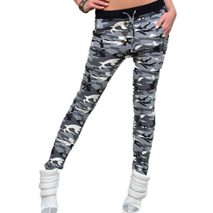 """Camouflage"" Yoga Pants For Women"
