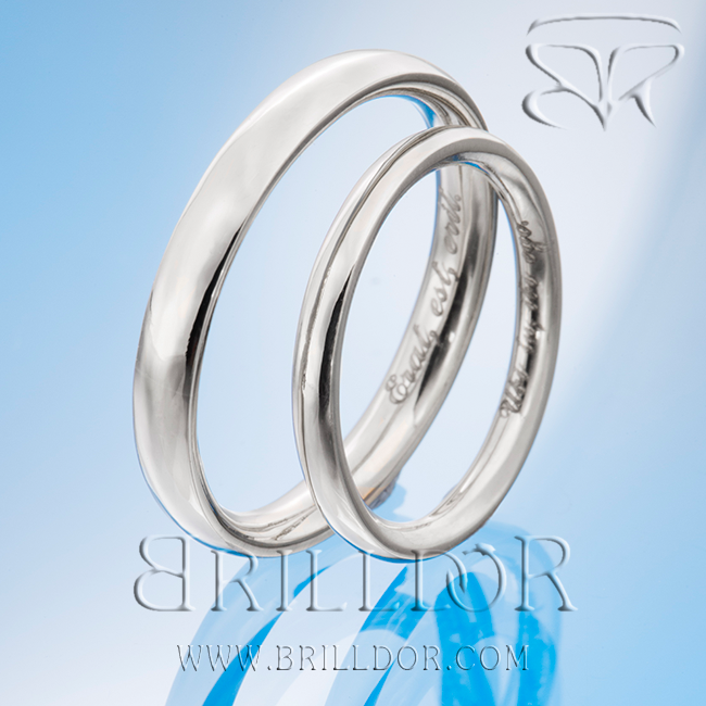 Clarity wedding bands