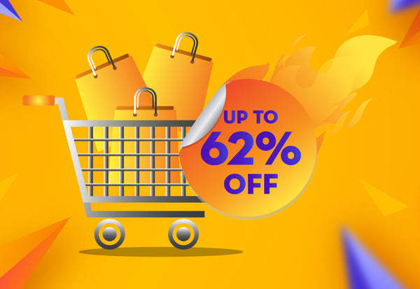 Up to 62% Off