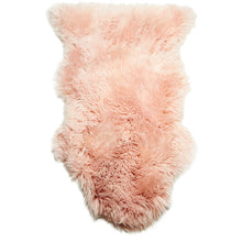 single sheepskin shaggy rug merino wool origin