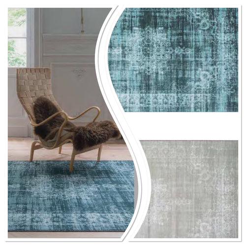 ORIGIN RUG COLLECTION SILK VISCOSE VINTAGE RUG