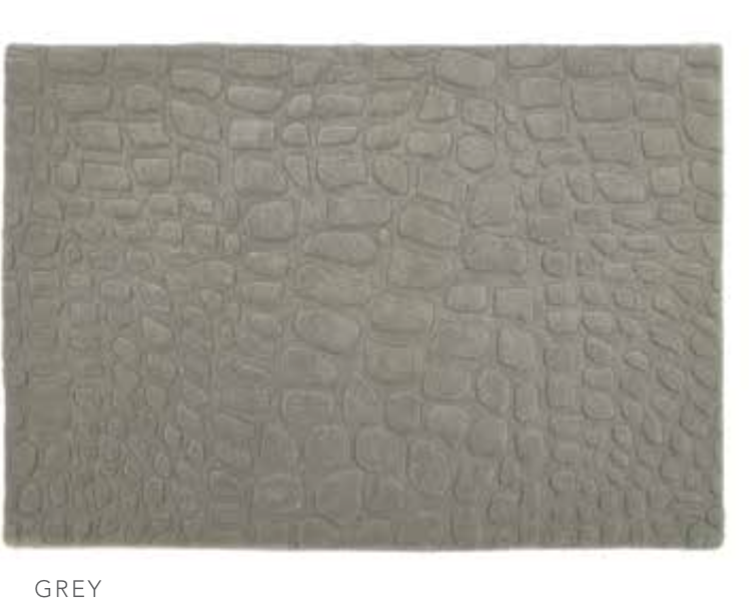 origin Hand Tufted Marble Rug Grey