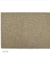 Origin 3D Hand Tufted Textured Wool Rug Marble in Taupe