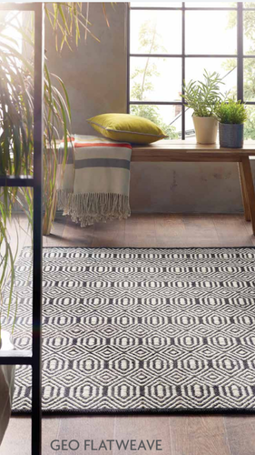 origin rug collection geo flatweave wool rug