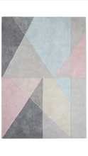 origin rug collection design matters rug pink