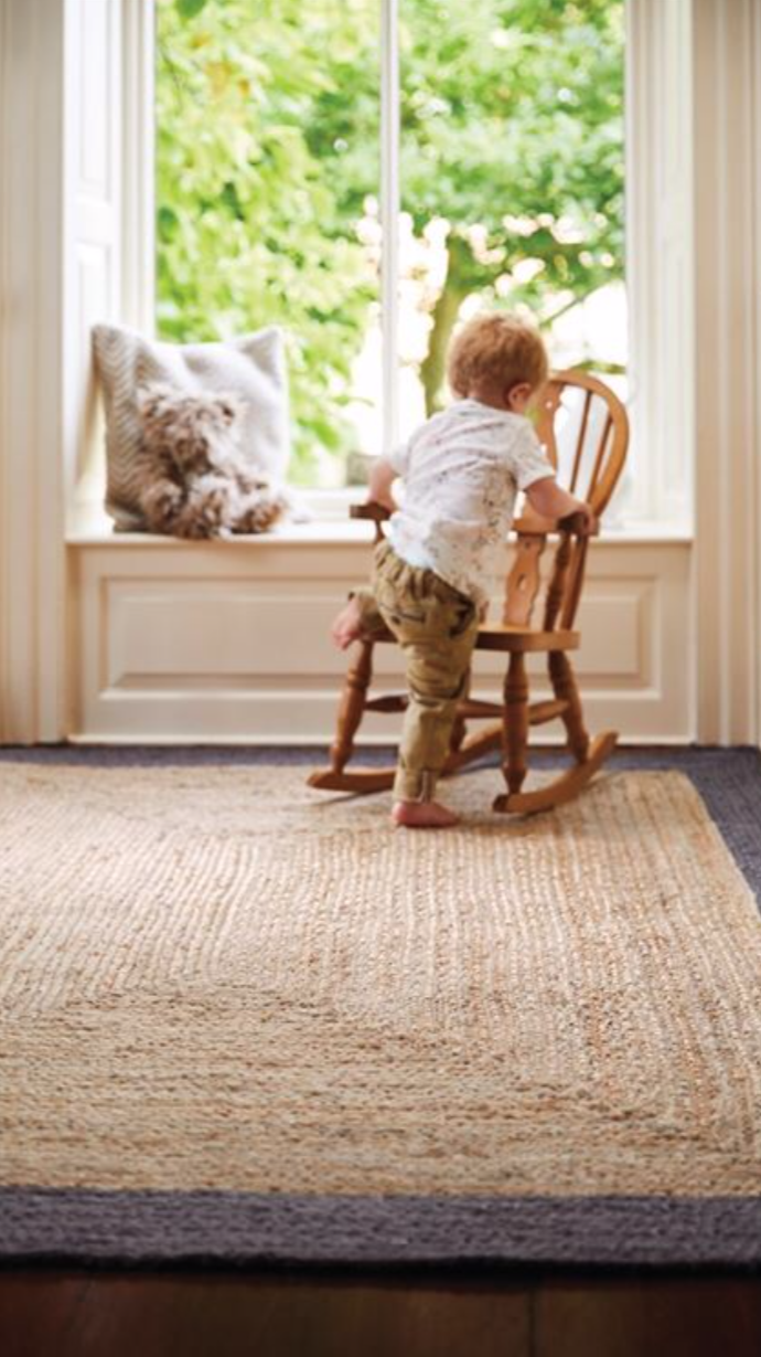 Origin Hand Braided Jute Edged Jute Rug 3 Colours Amp Sizes
