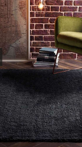 Origin Cudly Chunky Textured Rug Grey