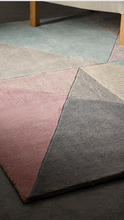 origin Design Matters Non-Shed Polyester Rug Geometric Design Looks like wool