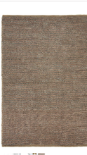 Origin Hand Woven textured Jute Loop Rug Natural