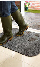 Grimbuster Washable Non Slip Cotton Luxury Door Mats by HugRug