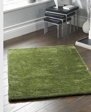 Origin Shimmer Shaggy Rug Apple