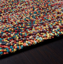origin rug collection savina rocks shaggy jellybean rug