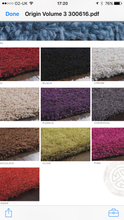 Chicago Shaggy Sparkle Twist Rug Purple Other Colours & Sizes