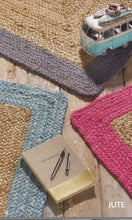 Origin Hand Braided Jute Edged Jute Rug 3 colours & sizes