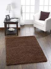 Brown Shaggy Super Value Shaggy Quality Rug