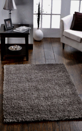 Slate grey sheepskin rug single - Grey Rugs Solitaire Rugs Co