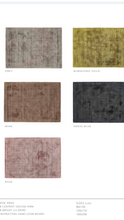origin delano rug colours grey rose mink charcoal gold
