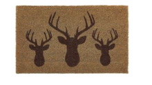 my mat coir outdoormat stag