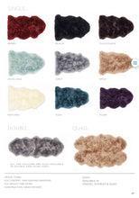 Origin Rug Collection Sheepskin Rug Colour Chart