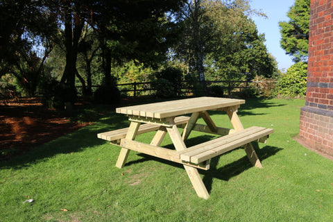 WOODEN DELUXE A-FRAME PICNIC TABLE (CVPT103)