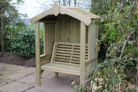 WOODEN COTTAGE ARBOUR – SEATS 2 (CVCA101)