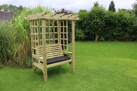 WOODEN BEATRICE ARBOUR – SITS 2 (CVBA101)
