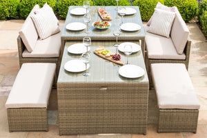 Tuscany Lyon Sofa Dining Set