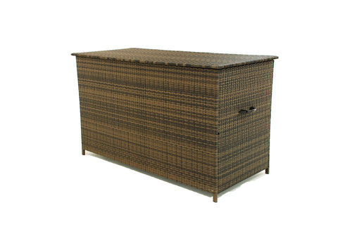 Rattan Large Storage Box Brown Weave