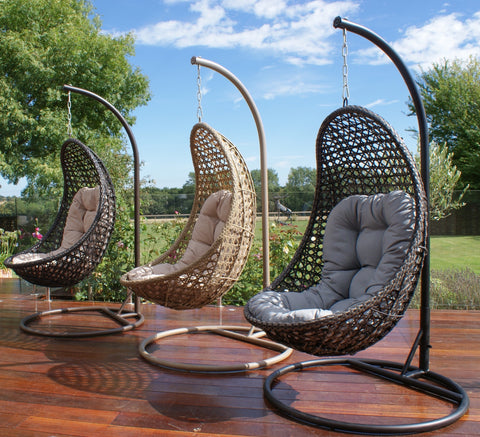 Malibu Hanging Pod Chair Outdoor Garden Furniture