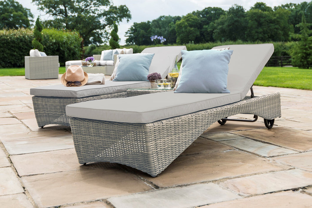 Rattan Oxford Sunlounger Set