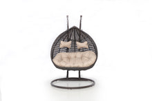 Rattan Rose Hanging Chair - Mixed Brown