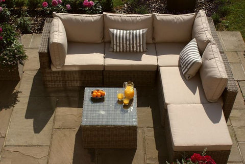 Winchester Square Corner Group Garden Furniture