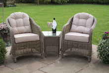 Rattan Winchester 3pc Lounge Set