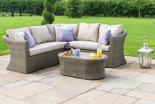 Rattan Winchester Small Corner Group Outdoor Garden Furniture Sofa