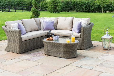 Winchester Small Corner Group Outdoor Garden Furniture Sofa